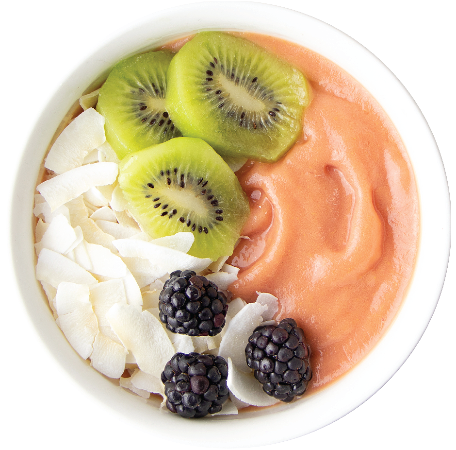 Pink Guava Fruit Packs Lifestyle Bowl