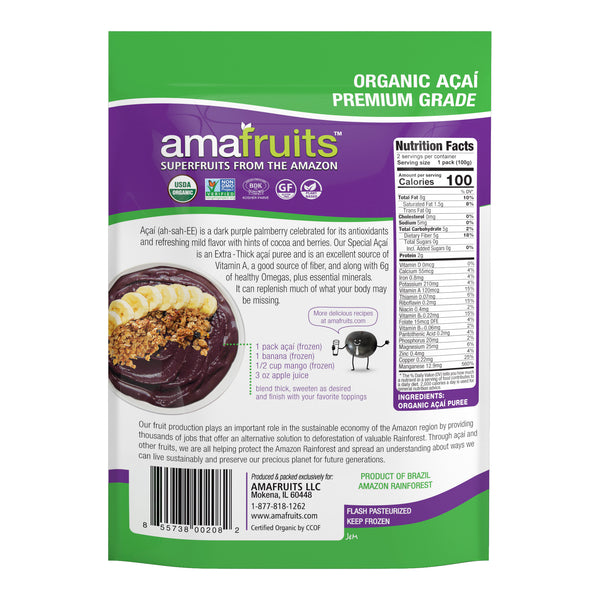 Acai Premium Grade Fruit Packs
