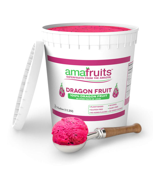 Dragon Fruit Sorbet - 3 Gal Tub