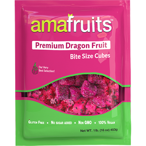 Dragon Fruit (Pitaya) Cubes