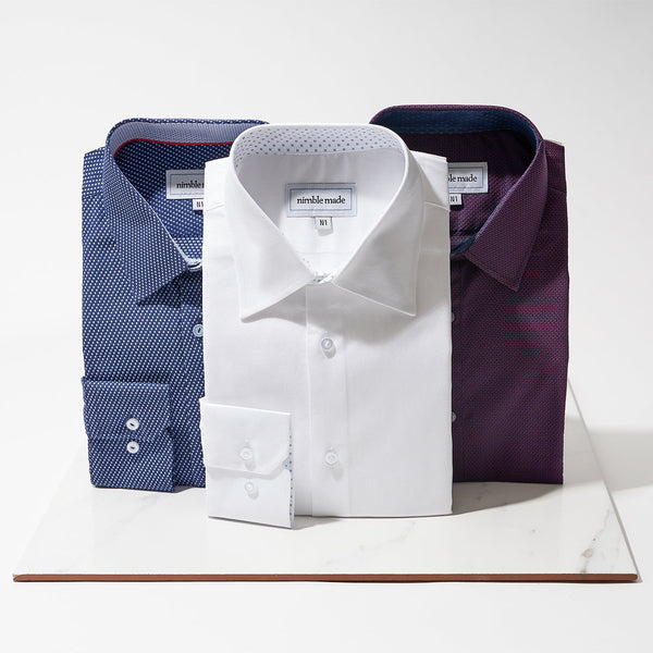 Slim Fit Dress Shirt by Nimble Made