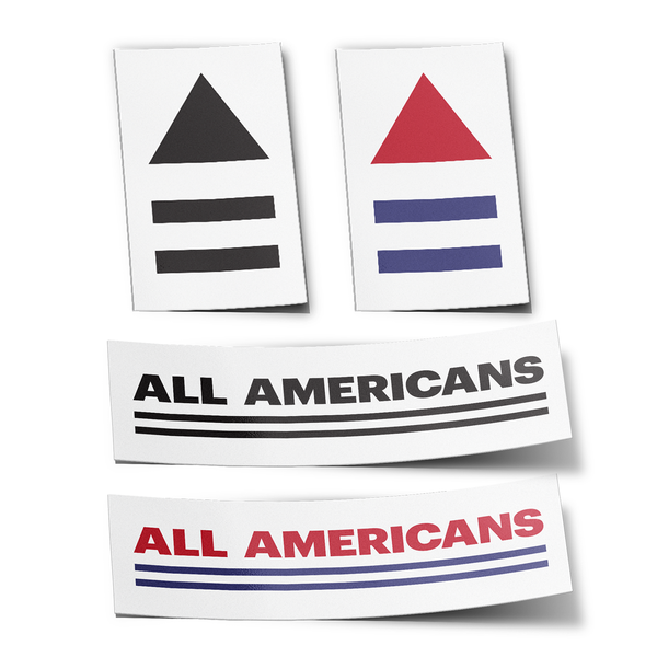 All Americans Movement Sticker Pack