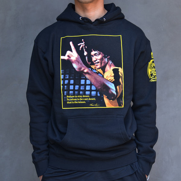 Bruce Lee - Refuse to Stay Down - Hoody