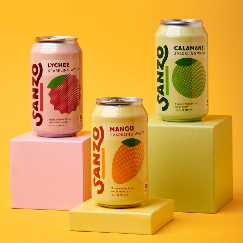 Sanzo Sparkling Water by Sanzo