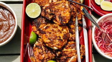 Double Spiced Grilled Chicken Thighs