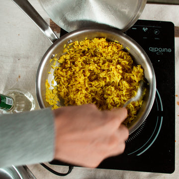 Yellow Rice with The Savories