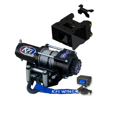 KFI Products Replacement Motor 4500LB MOTOR-45-BL