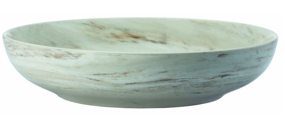Marble - Shallow Round Bowl