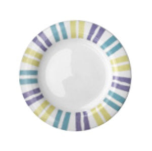 Candy Stripe Bread Plate 16cm