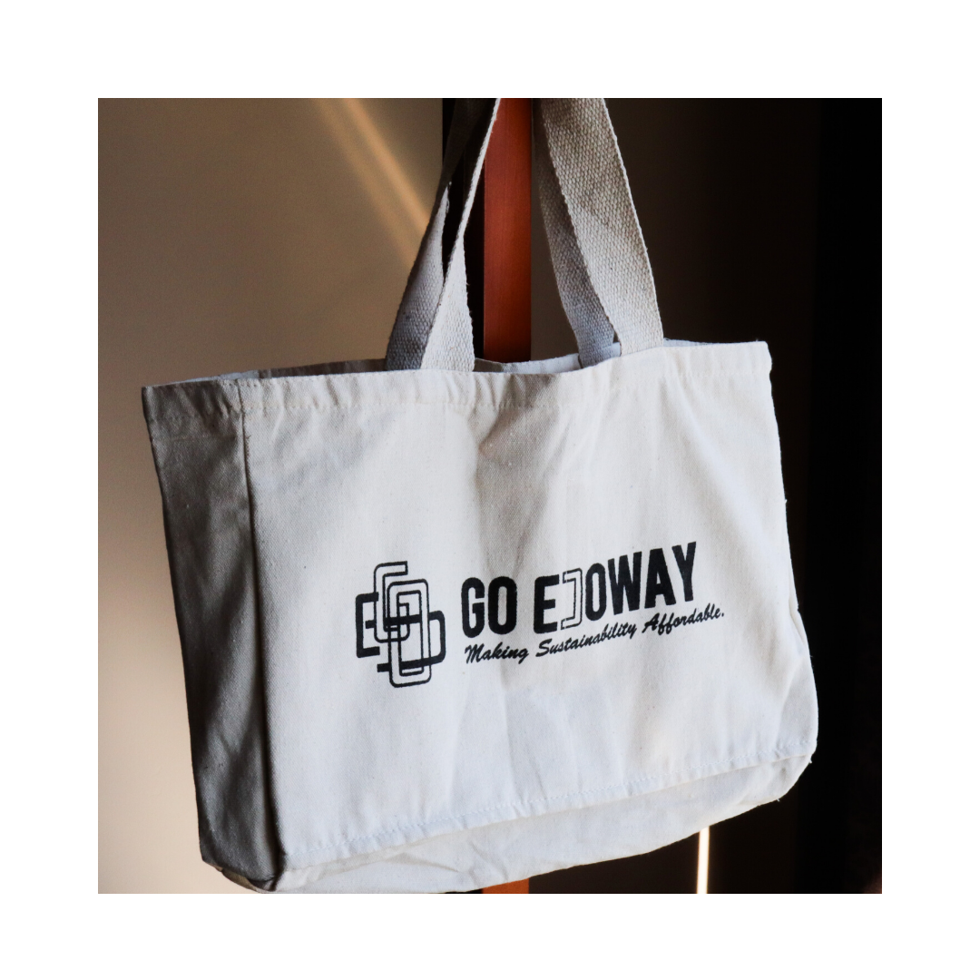 Multi Pocket Canvas Tote Bag