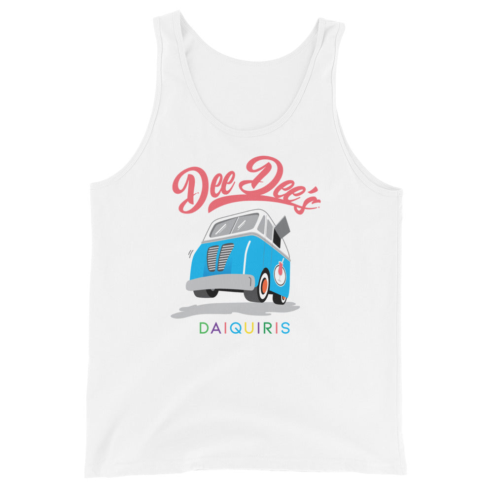 Dee Dee's Daiquiris Unisex Tank Top - Dee Dee's Daiquiris