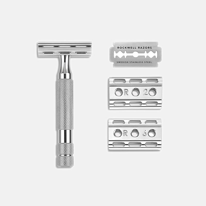 Rockwell 6C Razor + 4-Month Supply of Blades