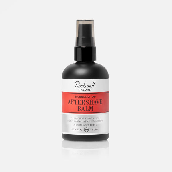 Rockwell Aftershave Balm  - Barbershop Scent 4oz