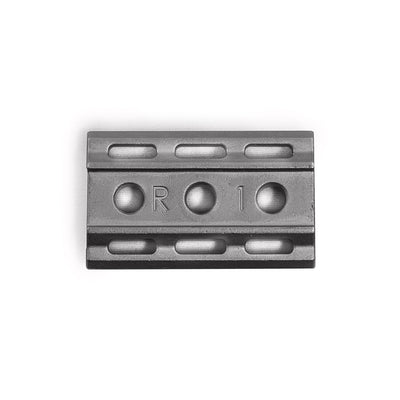 Rockwell 6S - Matte Stainless Steel - 1/3 Plate