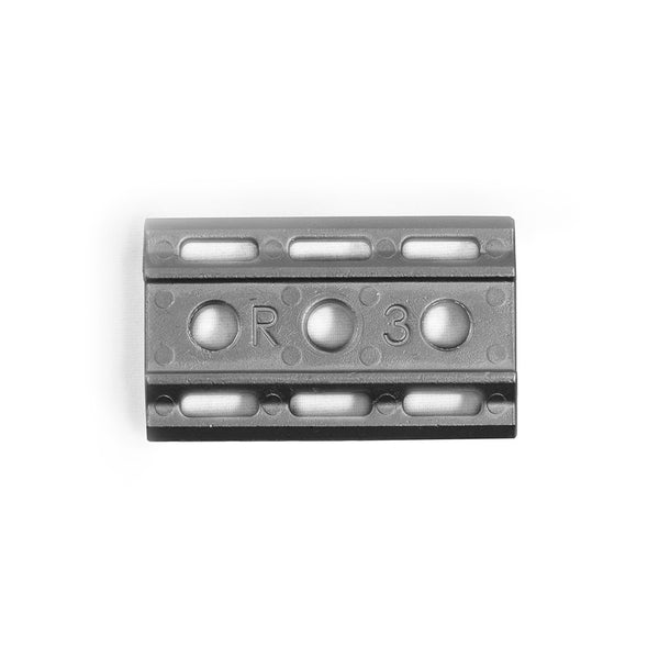 Rockwell 6S - Matte Stainless Steel - 1/3 Plate - , Rockwell Razors
