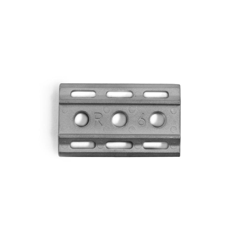 Rockwell 6S - Matte Stainless Steel - 5/6 Plate - , Rockwell Razors