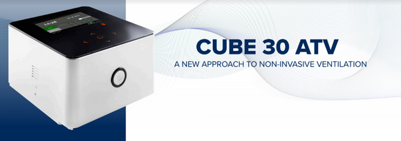 Cube 30 Clinical and Homecare Ventilator