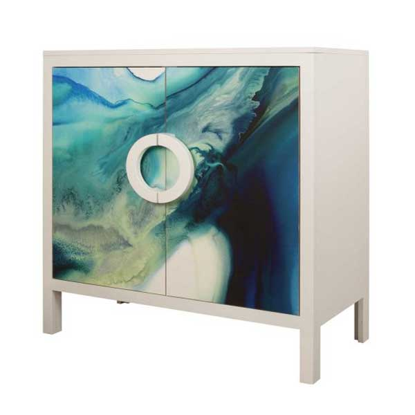 John Strauss Mabel Watercolor Cabinet
