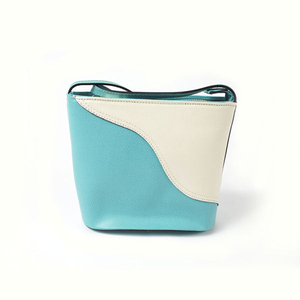 Treviso Two-Tone Cross Body Bag