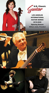 Exciting News - The Los Angeles International Guitar Series is Here!