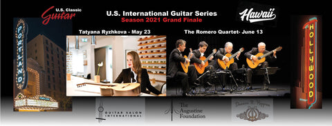 2021 U.S. International Guitar Series Season Tickets
