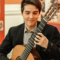 Xavier Jara (Guitar Foundation of America First Prize Winner) G. A. Ticket