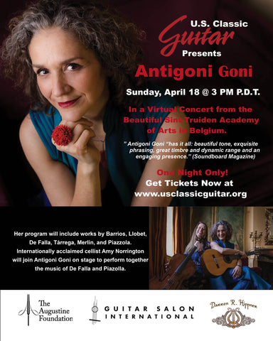 Antigoni Goni Senior and Student Virtual Concert Tickets