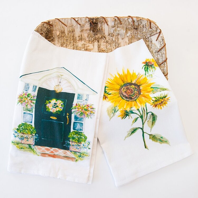 Flour Sack Kitchen Towel Duo