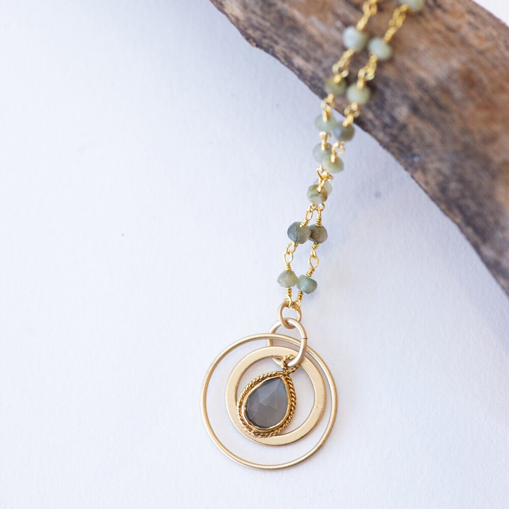 Canyon Cat's Eye Pendant