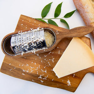 Acacia Cheese Grater Box