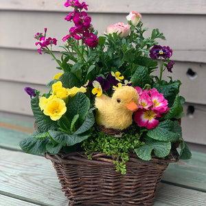 Easter Blooming Baskets