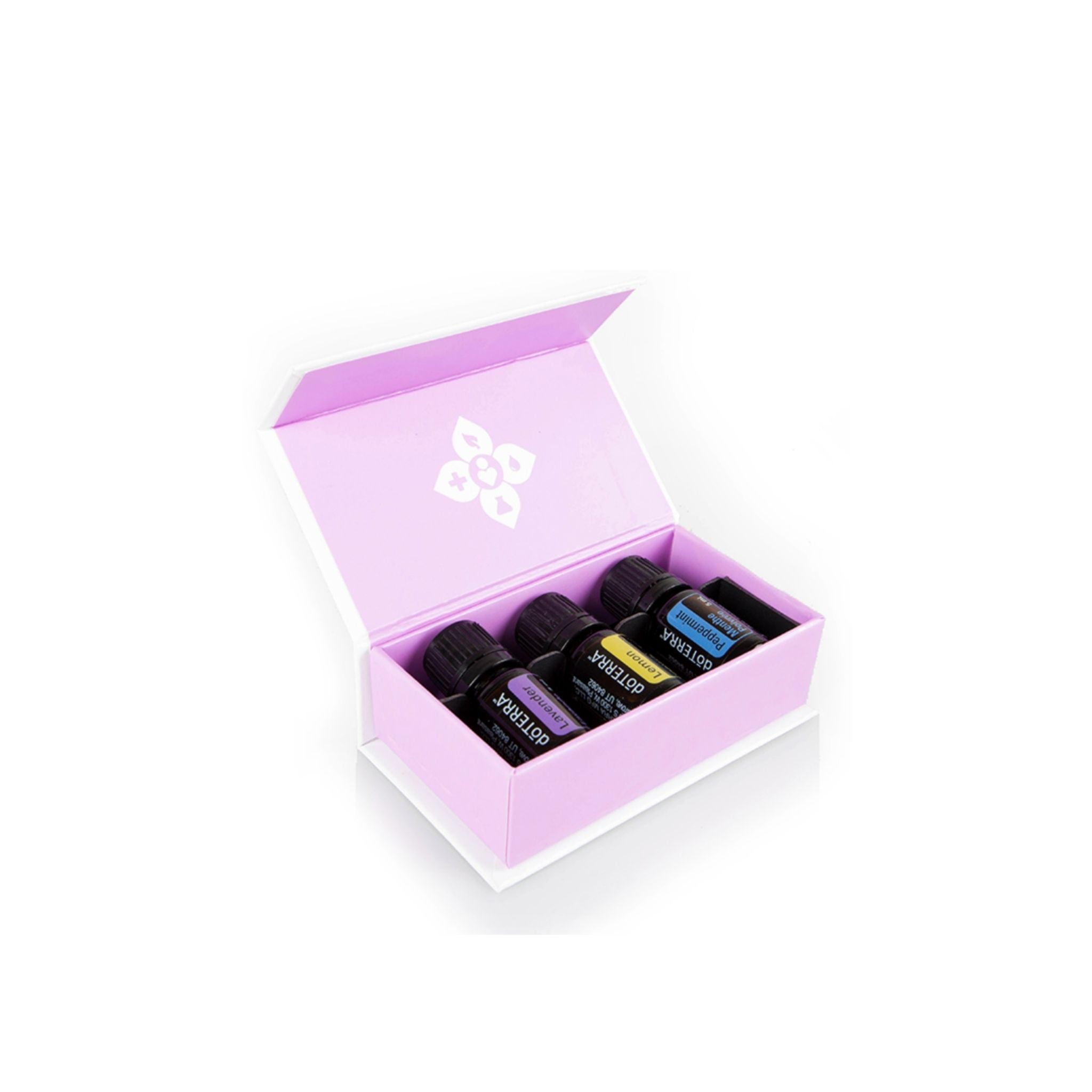 Introductory Essential Oil Kit - doTerra (Lavender, Lemon, Peppermint) - 5mL each - doTerra