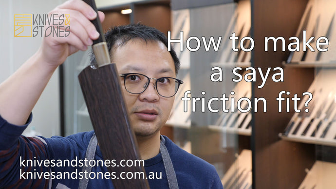 How to friction fit a saya