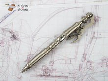 Load image into Gallery viewer, Bolt Action Pen - Ride the Wind Pen Steel by Hidetoshi Nakayama