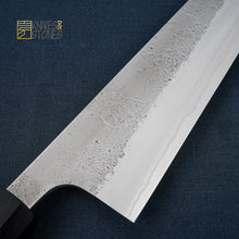 Load image into Gallery viewer, Yoshikane SKD Gyuto 240mm, stainless cladding with Nashiji Finish