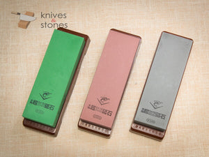 Naniwa Chosera 1K, 3K, 5K Japanese Waterstone Set