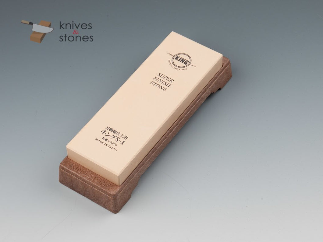 King 6000 Sharpening Water Stone S1