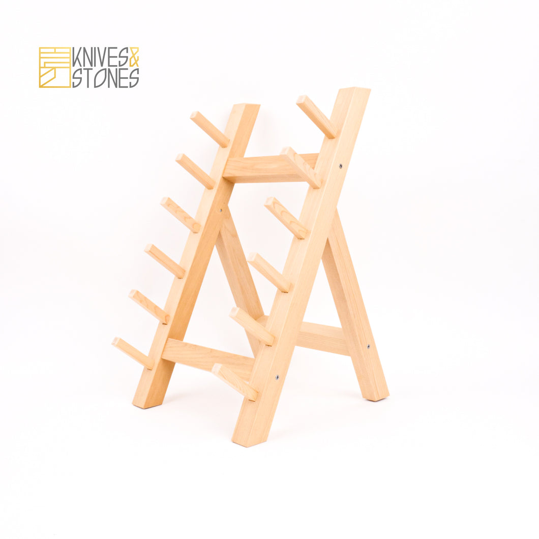 Japanese Wooden Knife Stand (6 Knife)