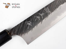 Load image into Gallery viewer, Kurosaki Fujin (風神) Aogami Super (AS) Gyuto 180mm