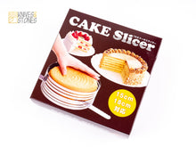 Load image into Gallery viewer, Cakeland Adjustable Cake Slicer Mousse Ring 15 to 18 cm by TigerCrown
