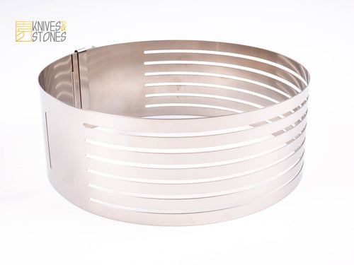 Cakeland Adjustable Cake Slicer Mousse Ring 15 to 18 cm by TigerCrown