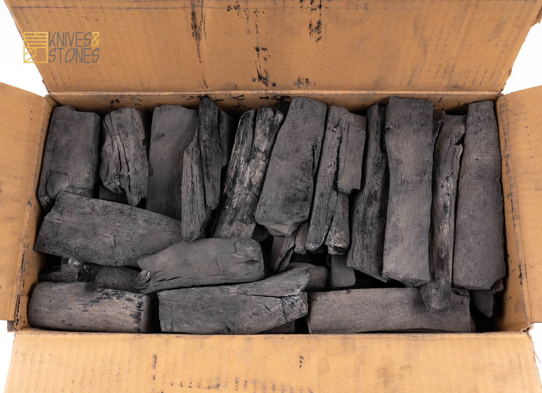 Binchotan Japanese White Charcoal Tosa Region (土佐備長炭) 12KG Box