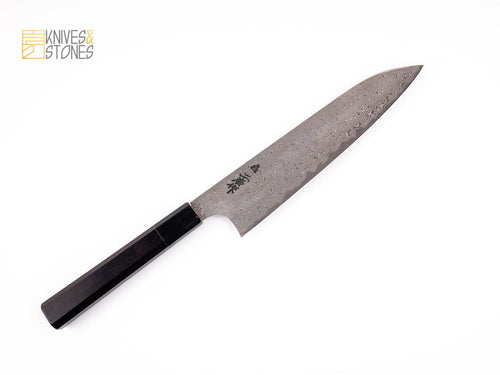 Nigara Damascus Gyuto 210mm Polished SRS-13 Powdered Steel