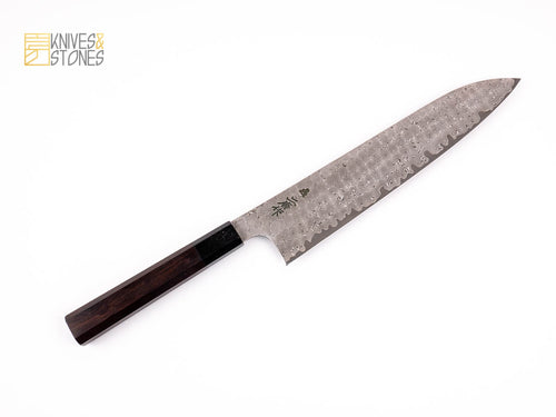 Nigara Anmon (暗紋) Damascus Gyuto 240mm SRS-13 Powdered Steel