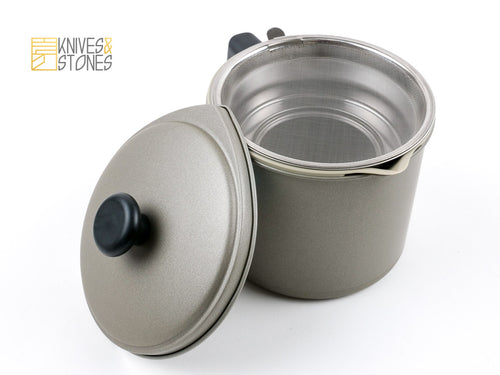 Yoshikawa Cooking Oil Filter Pot
