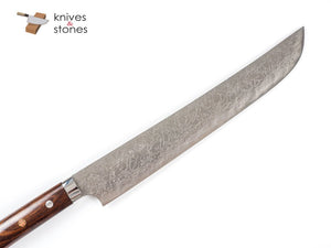 Special: Saji Sakimaru Shaped Sujihiki 270mm Diamond Damascus R2
