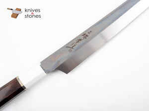 Sakai Takayuki GinRyu (銀龍) - Swedish Steel Honyaki Kiritsuke Yanagiba with Corian Handle