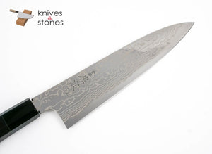 Sukenari (佑成) HAP40 HSPS Damascus Gyuto 210mm with Wenge wood saya