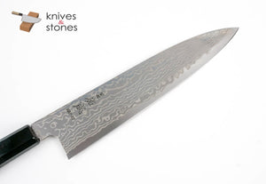 Sukenari (佑成) HAP40 HSPS Damascus Gyuto 240mm with Wenge wood saya