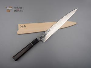 Sukenari ZDP-189 Damascus Sujihiki 240mm with Saya